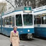 Tram, salah satu andalan transportasi dalam kota