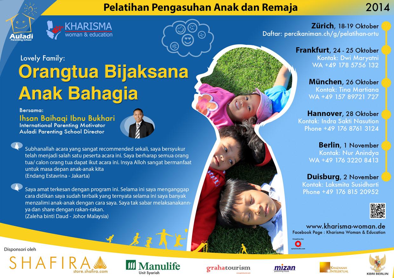 Seminar Kharisma - Parenting - Abah Ihsan